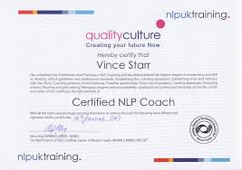 Nlp Certified Master Practitioner Workshop And Coaching Certificates Road Trip With Vince