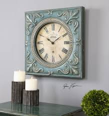 uttermost canal st martin square wall clock mathis brothers