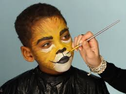 Halloween Makeup For Kids Witch Kid U0027s Halloween Makeup Tutorial Lion Hgtv