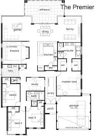 floor plan of modern single home indian house plans loversiq