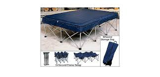 cabela u0027s folding air bed frame with queen air bed and pump cabela u0027s