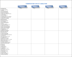 Data Mapping Template Excel Competitive Analysis Template 9 Free Word Excel Pdf Documents