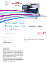 xeroxwc3655 service manual electromagnetic interference