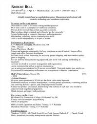 Inventory Resume Examples by Inventory Control Analyst Resume Objective Solomei Com