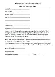 100 parental release form template free general release of