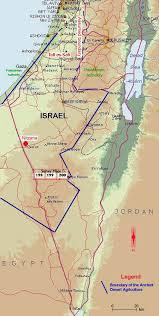 negev desert map adasr ancient desert agriculture systems revived