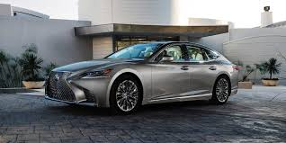 lexus ls 2018 lexus ls vehicles on display chicago auto show