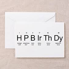 popular birthday wishes cards for cafepress periodic table