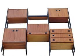 credenza unit modern teak wall unit room divider shelving unit credenza