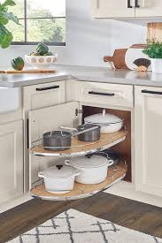 thomasville glass kitchen cabinets thomasville organization base corner with curved pullout