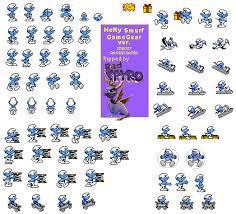 game gear smurfs hefty smurf spriters resource
