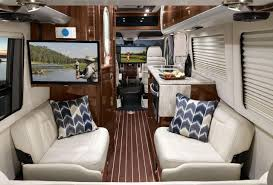 renovated rv the best kind of road trip a luxury rv without the camping
