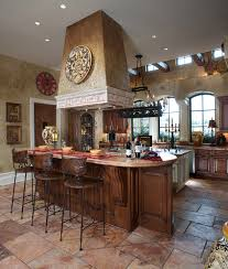 charming tuscan kitchen decorating ideas maple wood cabinet free