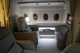 Air France Comfort Seats Review Air France New First Class Suite La Première A Designer