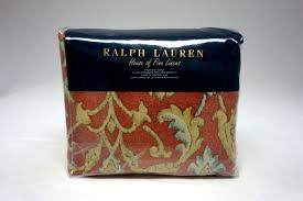 ralph lauren isla menorca scroll king duvet cover