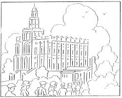 coloring pages for nursery lds temple coloring pages temple coloring pages coloring pages pin