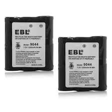 aliexpress com compre 2 pcs ebl 1200 mah 7 2 v bateria de