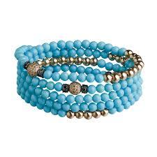 turquoise bead bracelet images 4 tours beads bracelet necklace turquoise rg s anil arjandas jpg