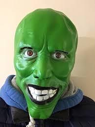 Mask Movie Halloween Costume Mask U0027 Green Latex Mask Jim Carrey Movie Fancy Dress Loki