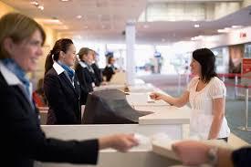 Customer Service Desk Meeting Customer Needs And Wants