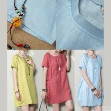 baby blue linen shift dress plus size sundress linen shirt blouse