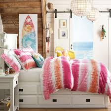 Cool Duvet Covers For Teenagers Reef Tie Dye Duvet Cover Sham Pbteen