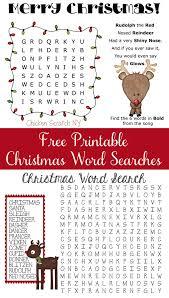 free printable reindeer activities reindeer christmas word searches christmas word search christmas