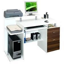 bureau ordinateur blanc laqué bureau informatique blanc bureau table bureau ordinateur blanc laque