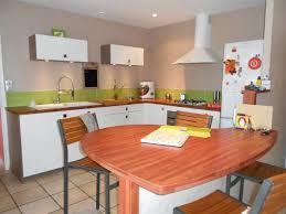 table de cuisine en stratifié plan de travail cuisine sur mesure stratifie plan de travail