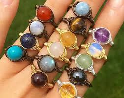 rings with crystal images Crystal ring etsy jpg