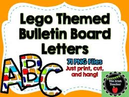 themed letters lego themed bulletin board letters by the tpt