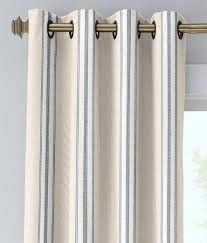 french ticking grommet top curtains country curtains