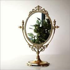 hakusan rakuten global market made in italy brass stand mirror