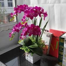 Artificial Orchids Silk Orchids Vases Online Silk Orchids Vases For Sale