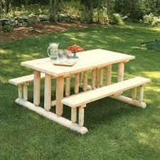 rustic outdoor picnic tables deluxe cedar picnic table cedar furniture picnic tables and picnics