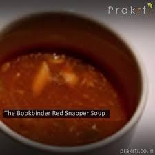 bookbinders snapper soup the bookbinder snapper soup prakrti