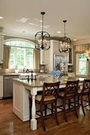 Kitchen Island Chandeliers Hickory Wood Ginger Windham Door Chandelier Over Kitchen Island