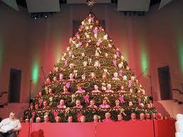 Bellevue Baptist Church Singing Christmas Tree by The Singing Christmas Tree Christmas Ideas
