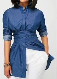 navy blue blouse button up navy blue curved blouse rotita com usd 29 50