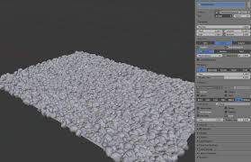 tutorial blender terrain modeling how to make a rough gravel terrain blender stack exchange