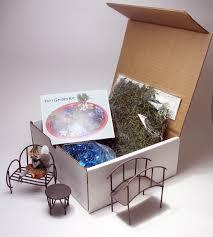 amazon com fairy garden kit includes fairy bench table
