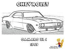 chevy camaro coloring page coloring home