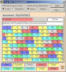 features of the professional feng shui calculation system