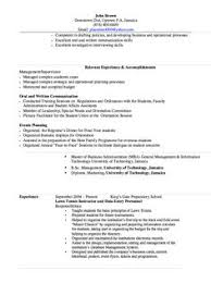 Resume Org Transfer Student Resume Sample Http Exampleresumecv Org