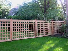 Fence Ideas For Patio Best 25 Lattice Fence Ideas On Pinterest Privacy Fences