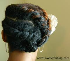 natural hair protective style 1 lovely you blog