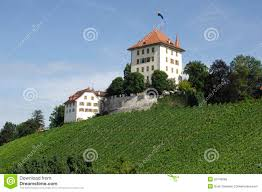 small castle in central switzerland stock image image 20749585