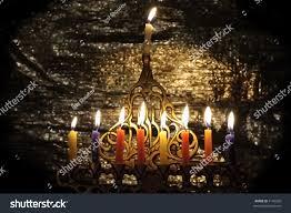 chanuka candles chanuka candles chanukia stock photo 7145020