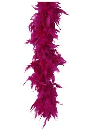 turkey feather boa fuchsia 80 gram boa turkey feather discount boas