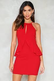 peplum dress baby be mine peplum dress shop clothes at gal